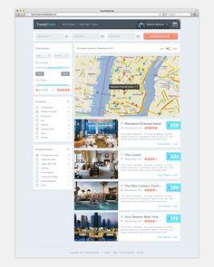 Travel Deals Site on Behance