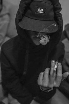 Street goth got smokes
