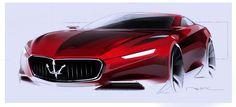 Maserati concept sketch More