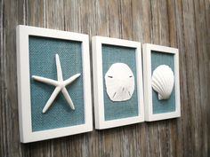 Cottage chic set of beach decor, wall art, nautical decor, coastal decor,. Nautical Bathrooms, Beach Bathrooms, Coastal Bathroom Decor, Nautical Bedroom Decor, Beachy Bathroom Ideas, Small Bathroom, Beachy Room, Ocean Bedroom, Ocean Home Decor