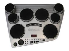 Yamaha DD-65 Digital Drum Kit - Get creative with 8 touch-sensitive pads and 2 foot pedals! Loaded with authentic stereo samples, this digital drum set lets you sequence beats on 4 tracks.