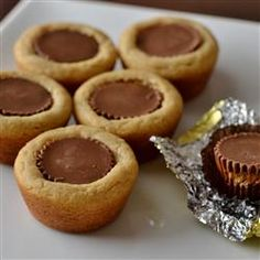 """Peanut Butter Cup Cookies 