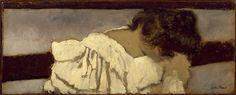 Édouard Vuillard (1868-1940) La Nuque de Misia, 1897-1899