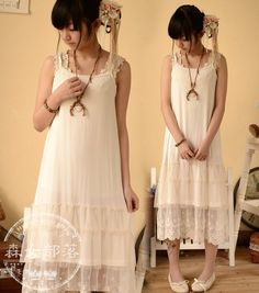 Find More Dresses Information about 2014 summer lace lengthen all match basic sleeveless women's one piece dress mori girl spaghetti strap ,High Quality strap pin,China dress up princess net Suppliers, Cheap dress strap from Alice' s store on Aliexpress.com