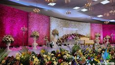 We are going to paint your newyears with pink n pastel ! A floral fantasy curved reception installation at Vellore ! Over 55000 ! Hope you all having a fabulous 2019 . Wedding Stage Design, Wedding Hall Decorations, Wedding Reception Backdrop, Marriage Decoration, Engagement Decorations, Backdrop Decorations, Flower Decorations, Background Decoration, Arch Decoration