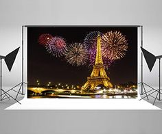 Purchase Night Paris Light Eiffel Tower Colorful Fireworks Wedding Decorations Photography Backdrop Photo Booth Background from Felix Honey on OpenSky. Photo Booth Background, Background For Photography, Photography Backdrops, Night Photography, Product Photography, Digital Photography, Photo Backdrops, Backdrop Background, Wedding Photography