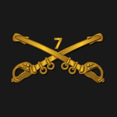 Check out this awesome '7th+Cavalry+Branch+wo+Txt' design on @TeePublic!