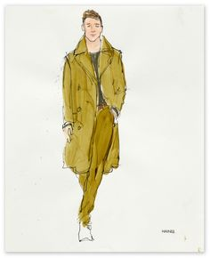 Richard Haines - Untitled 3 (A/W 2011 Men's Collections) for New York Times T Blog