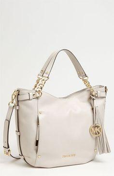 MICHAEL Michael Kors Devon - Large Leather Satchel | Nordstrom http://thegoodbags.com/    ichael Kors Outlet Only $72 Value Spree 28 For Sale,I'm in love!