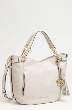 MICHAEL Michael Kors 'Devon - Large' Leather Satchel | Nordstrom