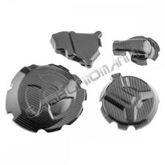 Kit protezioni carter motore in carbonio BMW S 1000 RR - 4 pezzi - cod. MCBM006