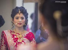 """92 Likes, 2 Comments - Anand Jadhav (@andy_jadhav) on Instagram: """"All Set!! #mirror #mirrorimage #bride #candid #candid moments #candidwedding…"""""""
