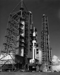 Saturn I rocket at Cape Canaveral, Florida, 1964 Apollo Moon Missions, All About Space, Nasa Space Program, Apollo Program, Nasa Images, Cape Canaveral, Space Rocket, Space And Astronomy, Space Station