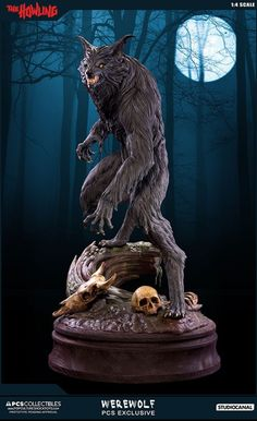 ArtStation - The Howling Werewolf Scale - PCS Collectibles, Jesse Sandifer Best Werewolf Movies, Werewolf Art, Horror Movies, Pop Culture Shock, The Howling, Vampires And Werewolves, Big Bad Wolf, Iconic Movies, Retro