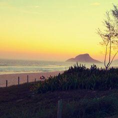 Praia do Recreio dos Bandeirantes em Rio de Janeiro, RJ