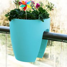 Balcony Planter – Turquoise from Balcony Bliss - R199 (Save 0%)