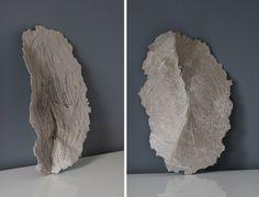 Mask  sculpture drawing paper pulp