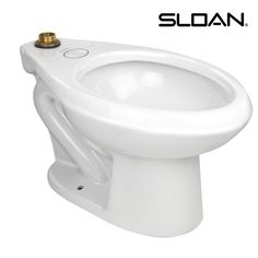 Sloan Valve Co 1.1 to 1.6 GPF Universal Toilet Bowl. Compare more units at store.equiparts.net