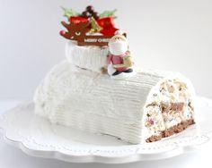 チャオ!ジェラート | フルーツとナッツのジェラートクリスマスケーキ