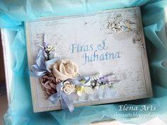Elena Arts: La última parte del libro de firmas de boda.    #mixedmedia #scrapbooking #mixedmediascrapbooking #elenaarts #librodefirmas #weddingbook #guestbook #boda #wedding #scrap #majadesign