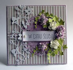 Use this as inspiration for elegant scrapbook page.Dorota_mk
