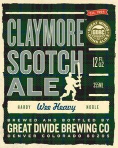 Claymore Scotch Ale