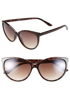 Cute cat eye sunglasses are a must for spring.