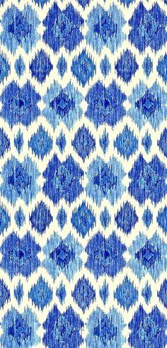 Ikat by Thibaut Design blue