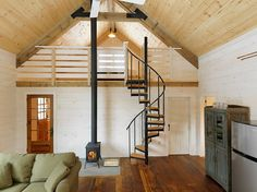 In love with this Winter Cabin by Joan Heaton Architects