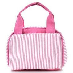 A personal favorite from my Etsy shop https://www.etsy.com/listing/242242955/monogrammed-lunch-bag-pinstripe