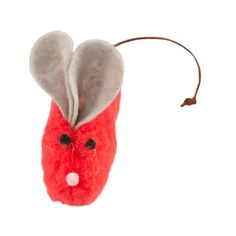 A cat toy collection would not be complete without a mouse! The Mouse is small enough to bat around, yet big enough to really sink some claws into. It's the perfect toy for your cat to play around with and having a bell tinkling inside will get your cat even more intrigued. Has an eco fabric coat. Filled with USDA certified organically grown catnip. It measures at 5.5 inches. $7.91 The Ultimate Gift, Yoga Accessories, Cat Toys, Claws, Craft Supplies, Clever, Great Gifts, Sink, Christmas Ornaments