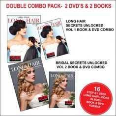 f. DOUBLE COMBO PACK - VOL 1 & VOL 2 BOOKS & DVD'S