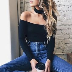 thestylexplorer:   Off the shoulder tees >> High... - TheStyleShaker.com