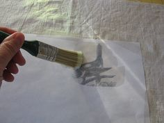 Ink transfer to fabric