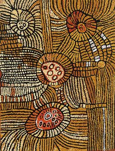 Tingari Women's Law Synthetic polymer paint on canvas, 120 x 91 cm Contemporary, Modern Australian and Important Abor, Lawson~Menzies, Sydney.