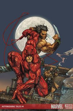 Daredevil, Wolverine, & Punisher - Kenneth Rocafort