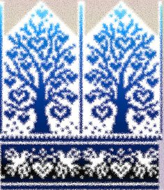 Ravelry: Tree of Love pattern by Natalia Moreva