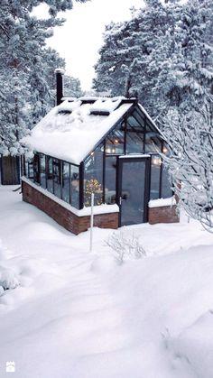 ogród we wnętrzu - Ogród w stylu skandynawskim, styl skandynawski - zdjęcie od Martyna