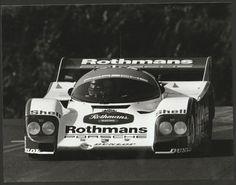 FUJI 1000KM 1986 #1 ROTHMANS PORSCHE 962 DEREK BELL HANS STUCK PERIOD PHOTOGRAPH