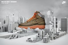 Nike Sneakerboots — chris labrooy
