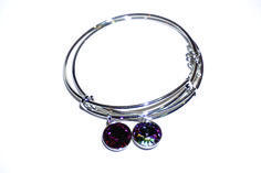 Pulsera rígida Pandora Charms, Charmed, Pendant Necklace, Bracelets, Jewelry, Crystals, Bangle Bracelets, Jewlery, Jewerly