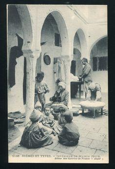 Algeria Jewish Quarter Postcard Judaica | eBay
