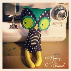 Cheeky little owl! Made by Bunny&Smoosh