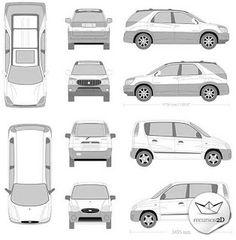 Casi 6000 modelos de vehículos en vector (Almost 6000 Vector Vehicles Pack)