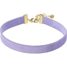 Vanessa Mooney The Stella Choker Necklace (Lavender) Necklace (€20) ❤ liked on Polyvore featuring jewelry, necklaces, chokers, accessories, purple, chain necklaces, purple pendant, colorful necklaces, chain pendants and multi coloured necklace
