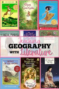 Learn how to teach geography with literature, grab a free printable, and get a list of 30 books that can take you and your kids around the world