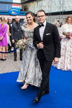 Crown Princess Victoria of Sweden and Prince Daniel of Sweden attend Polar Music Prize on June 15 2017 in Stockholm Sweden
