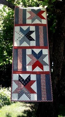 Flag Quilt, Patriotic Quilts, Star Quilts, Mini Quilts, Quilt Blocks, Blue Quilts, Quilted Table Toppers, Quilted Table Runners, Quilted Table Runner Patterns