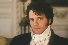 Colin Firth as Mr. Darcy; romantic heroes