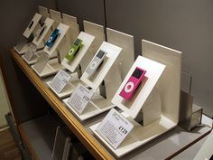 Retail security for iPods